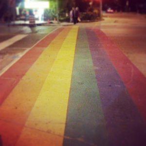 Rainbow road image